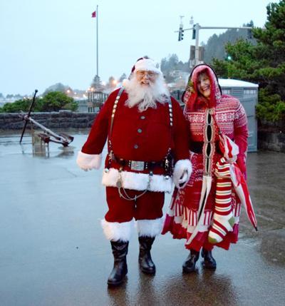 Santa and Mrs