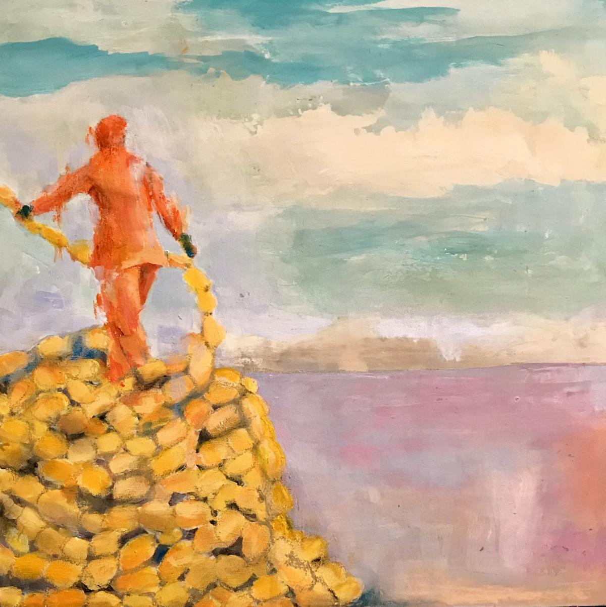 Drea Frost's 'Fisherwoman on Yellow Corks'