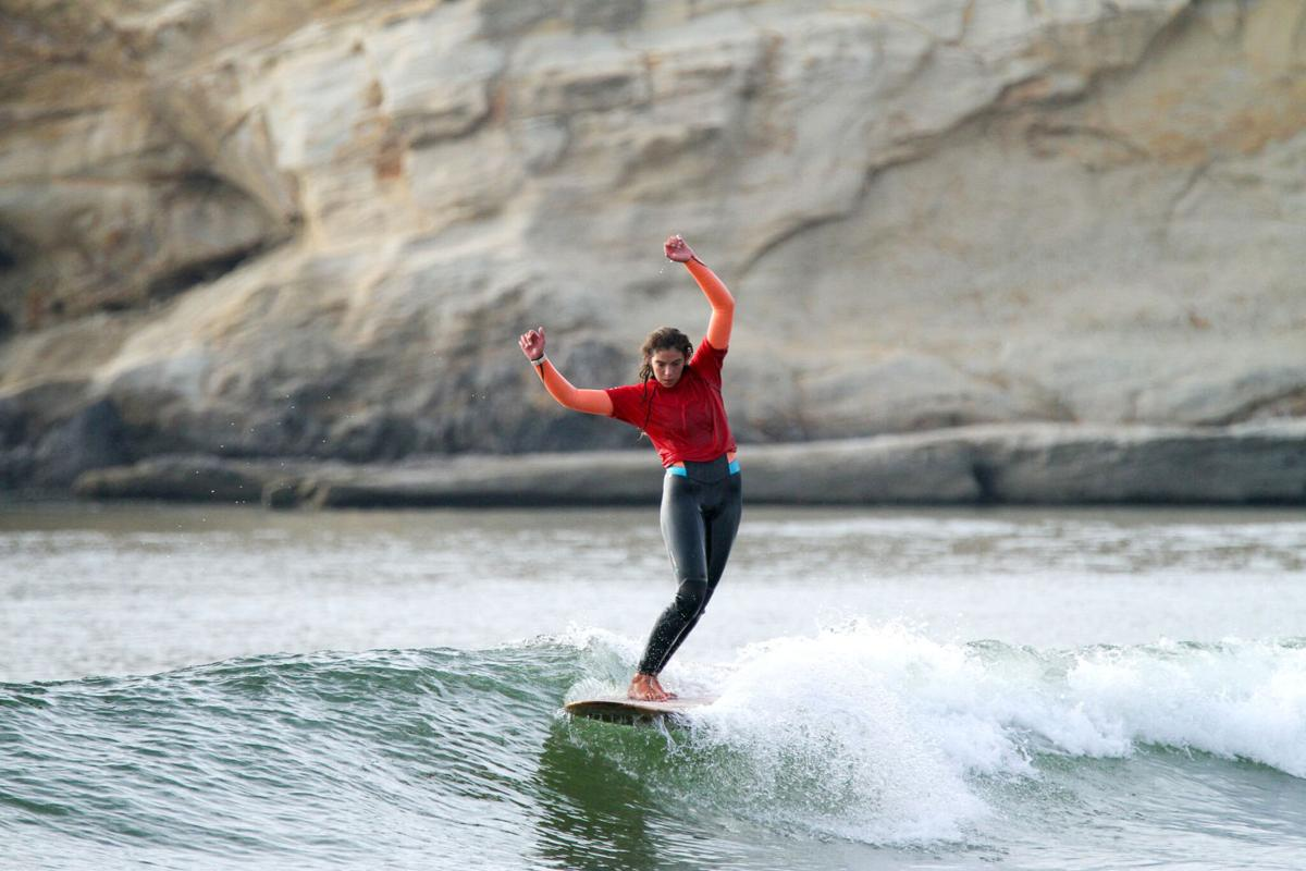 Hands up if you like surfing