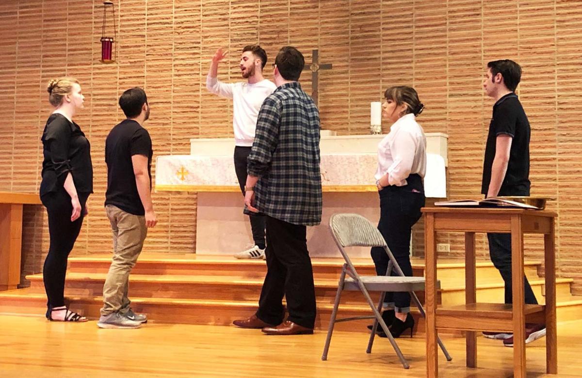 Opera rehearsal 1