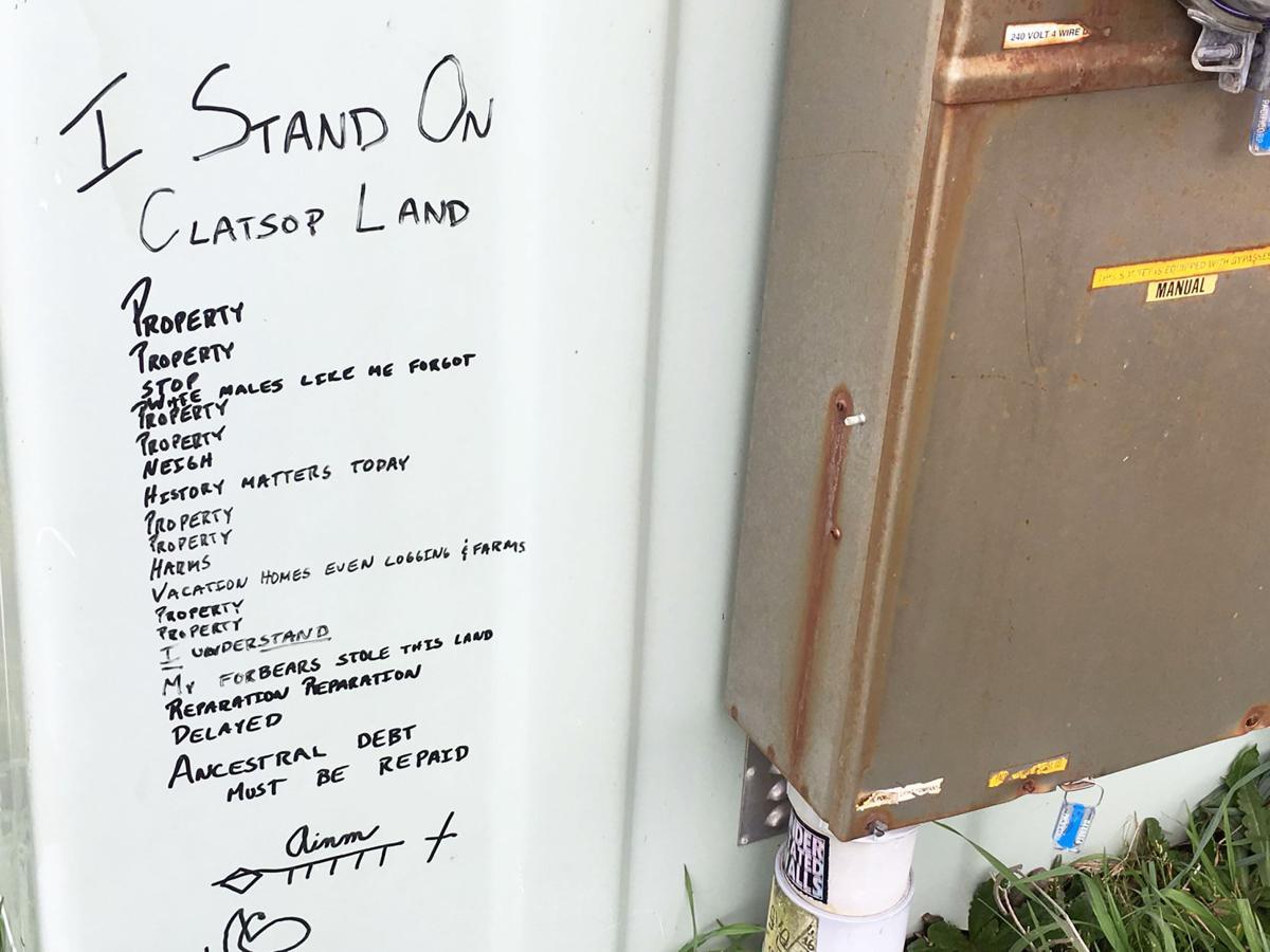 Poetry on public utility box