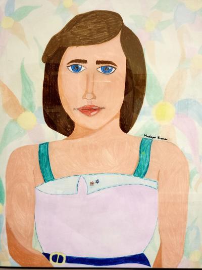 Portrait by Cathlamet High School student