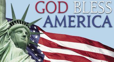 God bless America rally