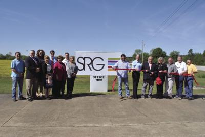 SRG ribbon cutting