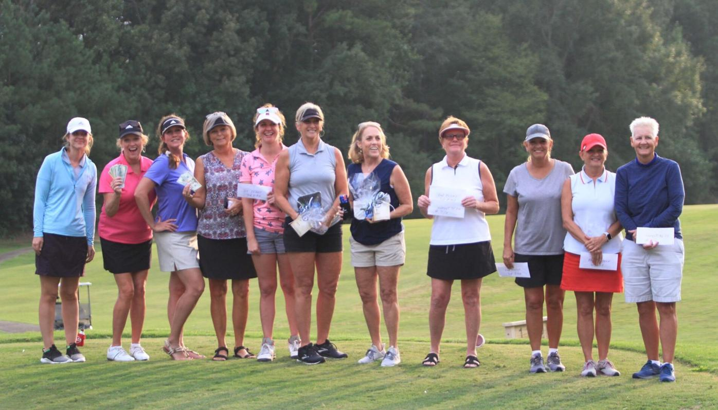 Ladies scramble winners