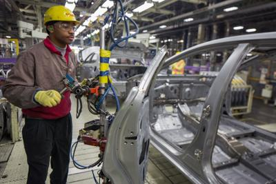 Toyota plant worker