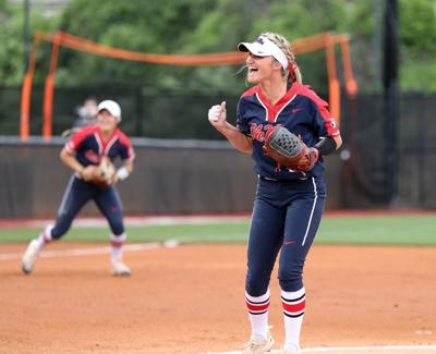Ole Miss pitcher Kaitlin Lee