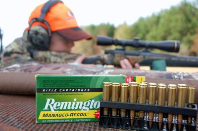 rifle shooting art