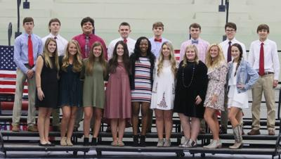 Hickory Flat Homecoming Court