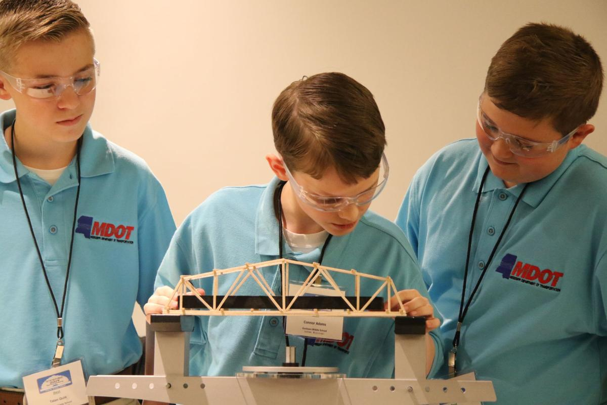Area Schools Take Home Awards At National Bridge Building Contest Itawamba Djournal Com