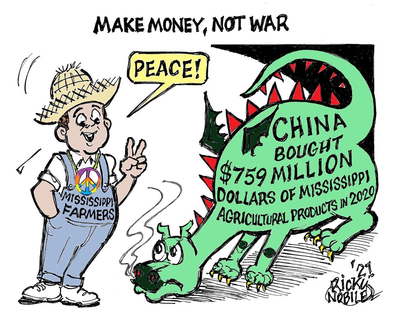 RICKY NOBILE: Make money, not war