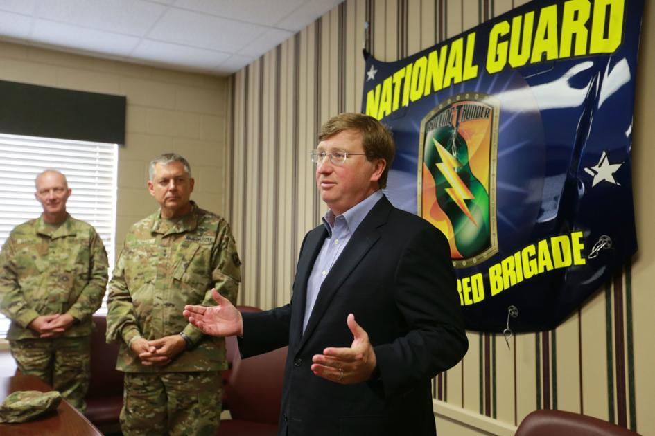 Tate Reeves commits to National Guard funding, accepts Trump endorsement