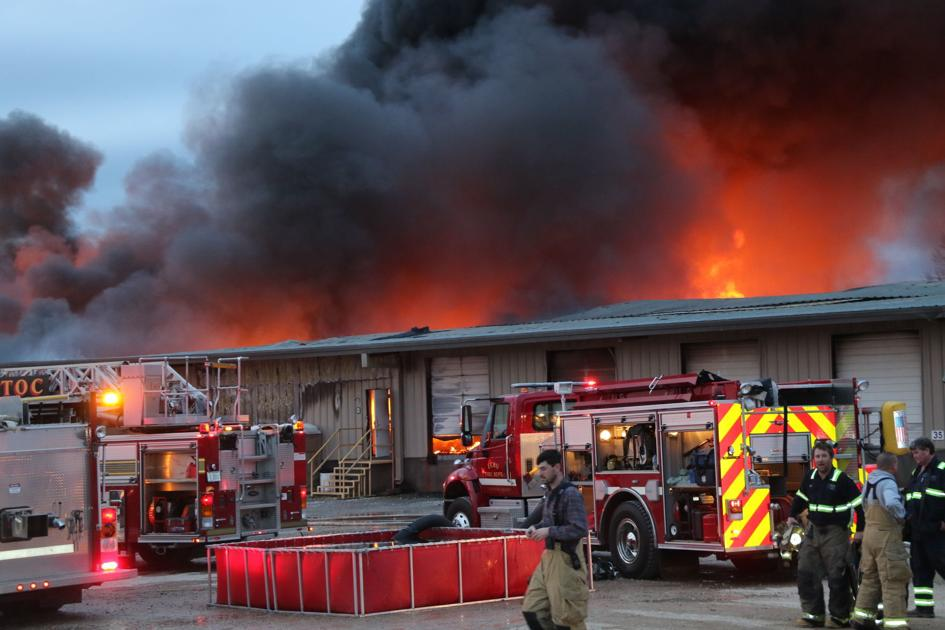 Fire Destroys Warehouse At American Furniture Authorities