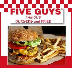 Five Guys Burger Chain To Open Tupelo Location