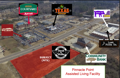 Outback Tupelo Ms >> Pinnacle Point Site Work Resumes Still On Schedule News