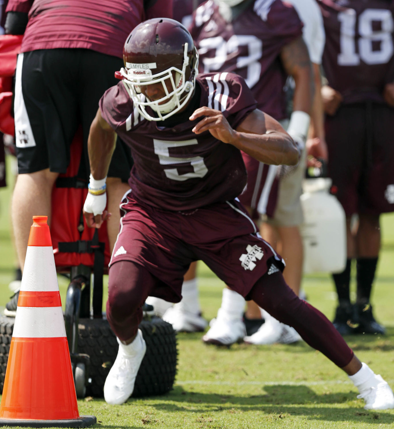 Mississippi State RB Kylin Hill Arrested for Reckless Driving