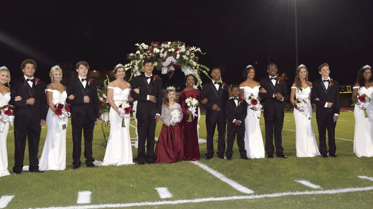 New Albany High School 2018 homecoming court