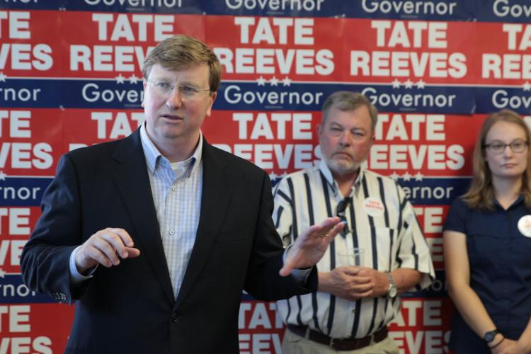 Reeves in Tupelo