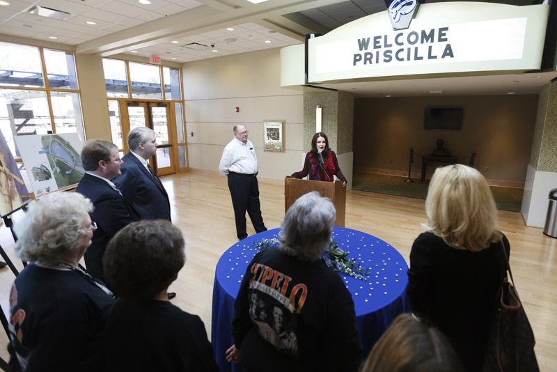 Priscilla Presley's Tupelo visit the first in decades