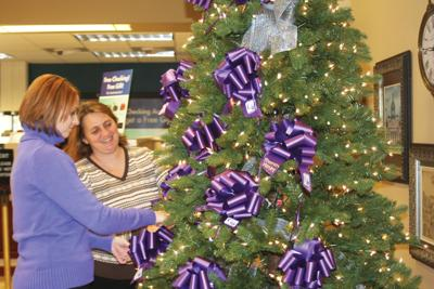 Renasant Bank gets in the holiday spirit with giving tree for cancer survivors