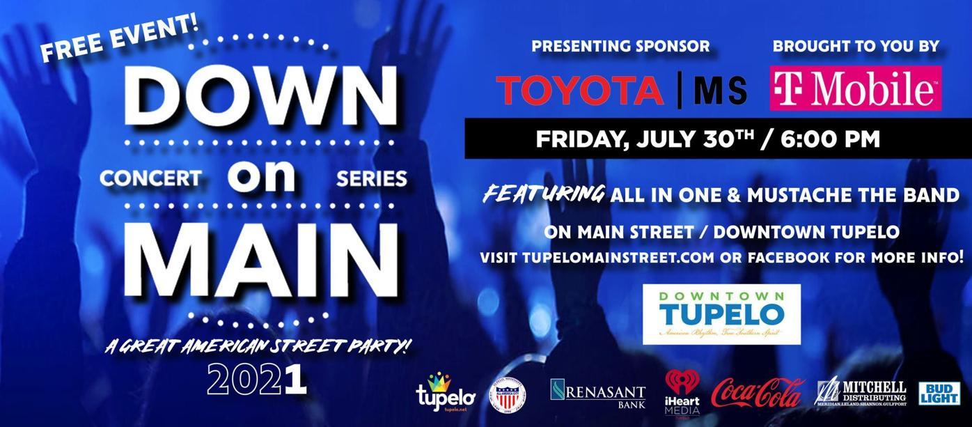 Tupelo Down on Main concert series