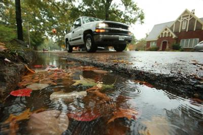 PHOTO: A wet Halloween in Tupelo