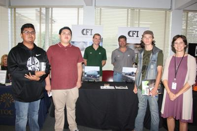 Students learn of career opportunities