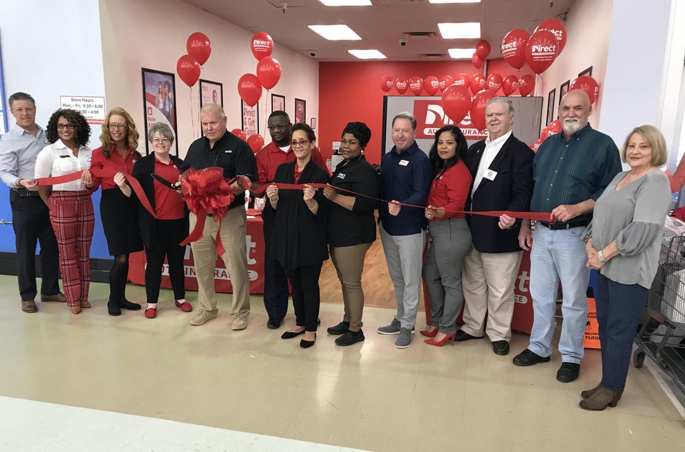 Ucda Hosts Ribbon Cutting For Direct Auto Insurance New Albany Djournal Com