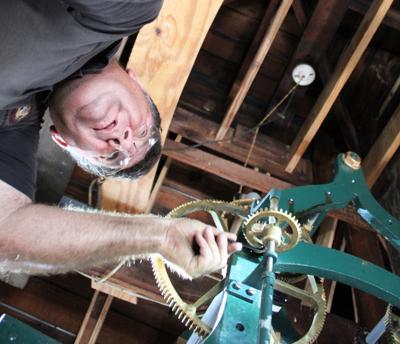 Monroe County Courthouse clock working again | News | djournal com