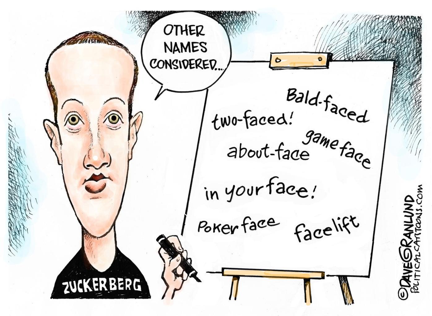 DAVE GRANLUND: Facebook name change