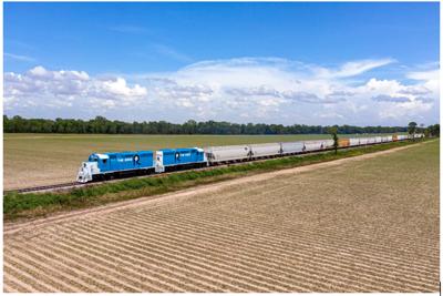 TRAIN Chicago Rock Island and Pacific Railroad