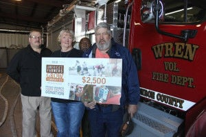 Wren VFD awarded $2,500 through Monsanto Fund