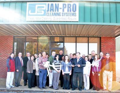 Jan-Pro Cleaning ribbon cutting