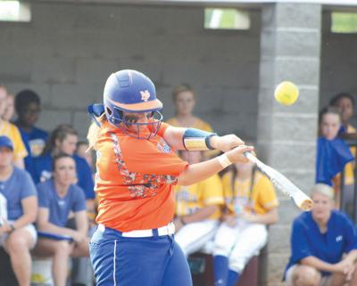 Gracey Griggs at bat