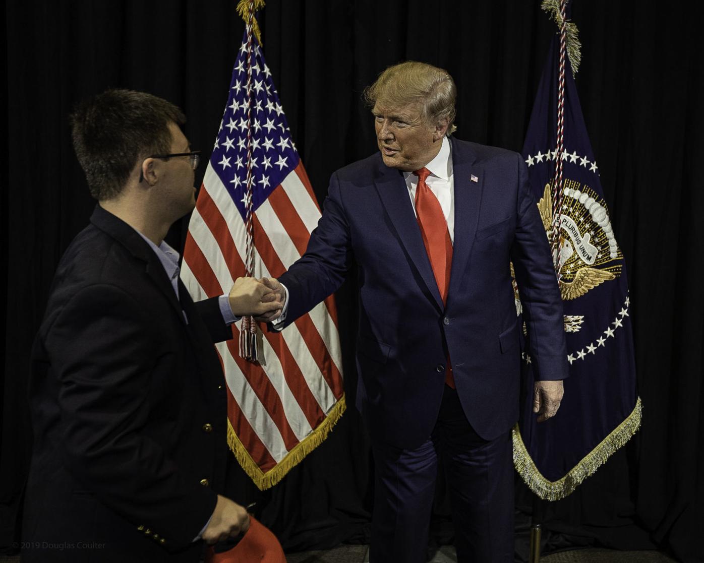 Spencer Kirkpatrick and Donald Trump