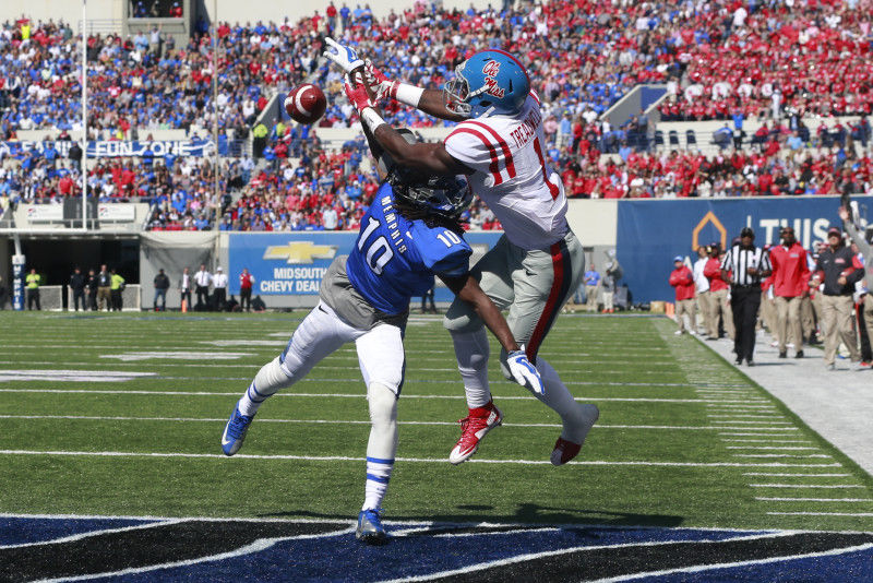 Memphis blues: Rebels' struggles continue in loss to Tigers
