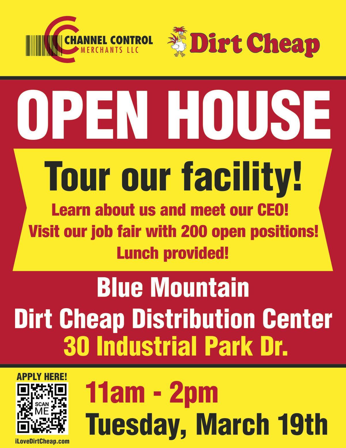 Blue Mountain Open House flyer final