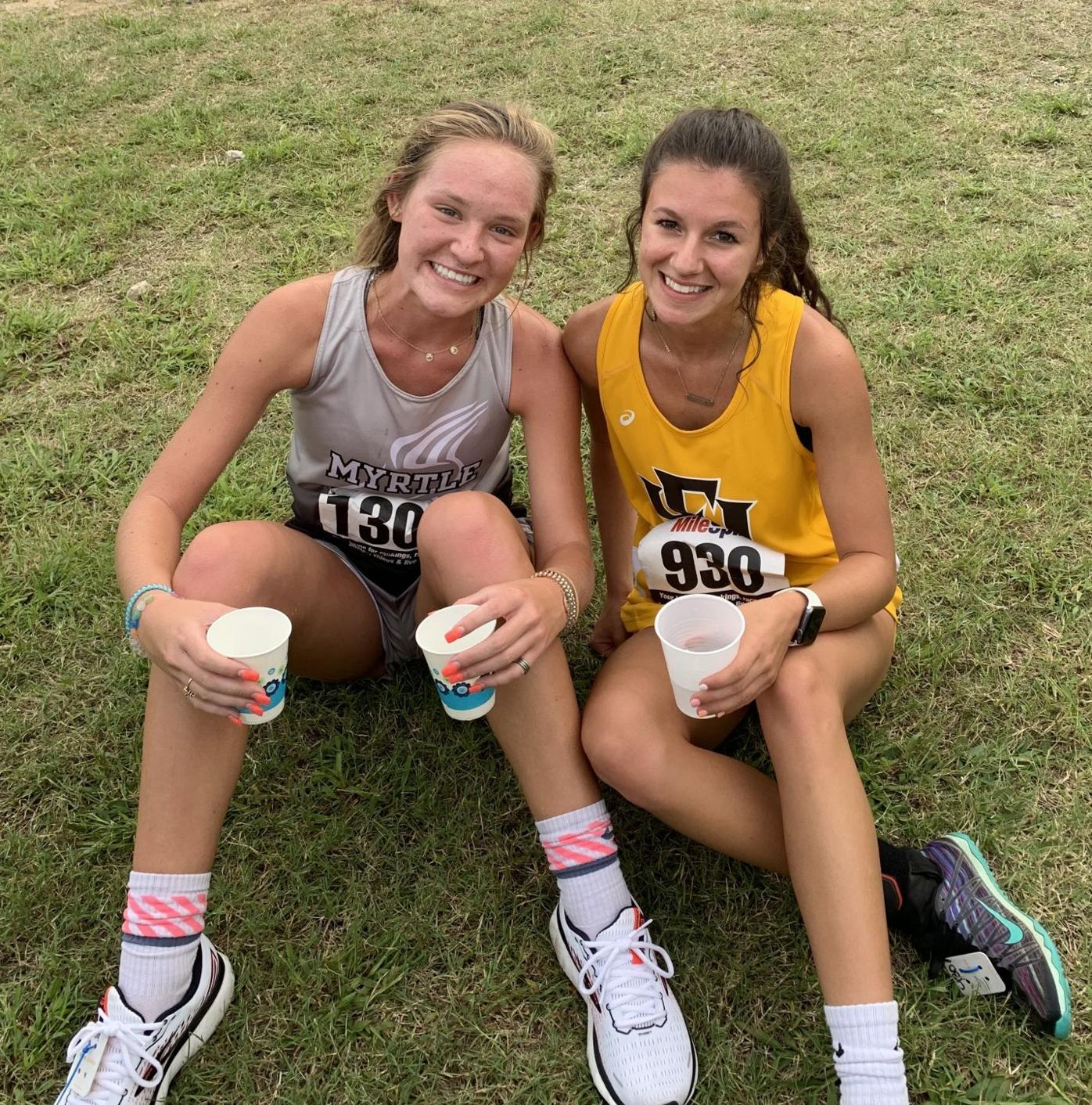 Maggie Moody and Karley Conwill