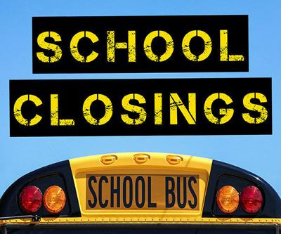 School Closings Graphic