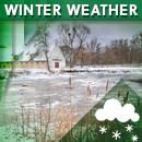 Wintry precipitation possible starting Sunday