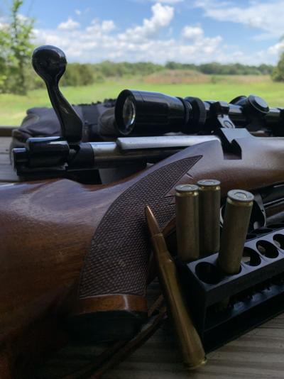 rifle tinkering art