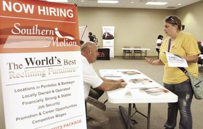 Hopeful job seekers continue their search for work