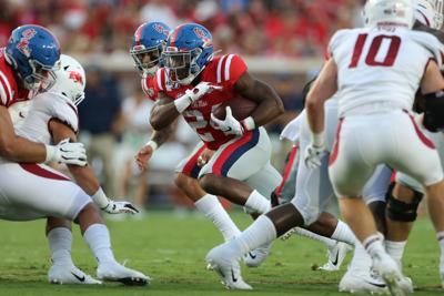 Running back depth paying off for Rebels