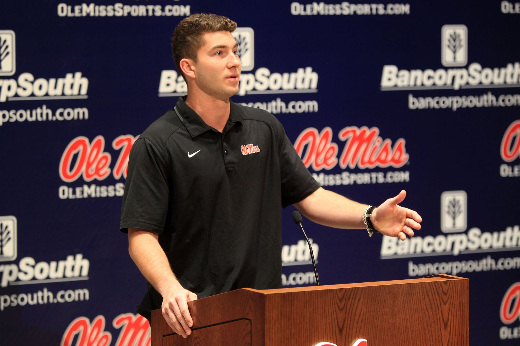 Patterson focusing on football during controversial times at Ole Miss