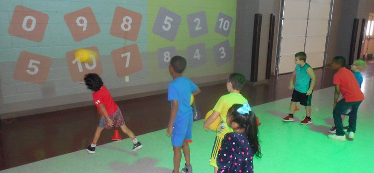 Children exercise bodies, minds at New Albany Elementary