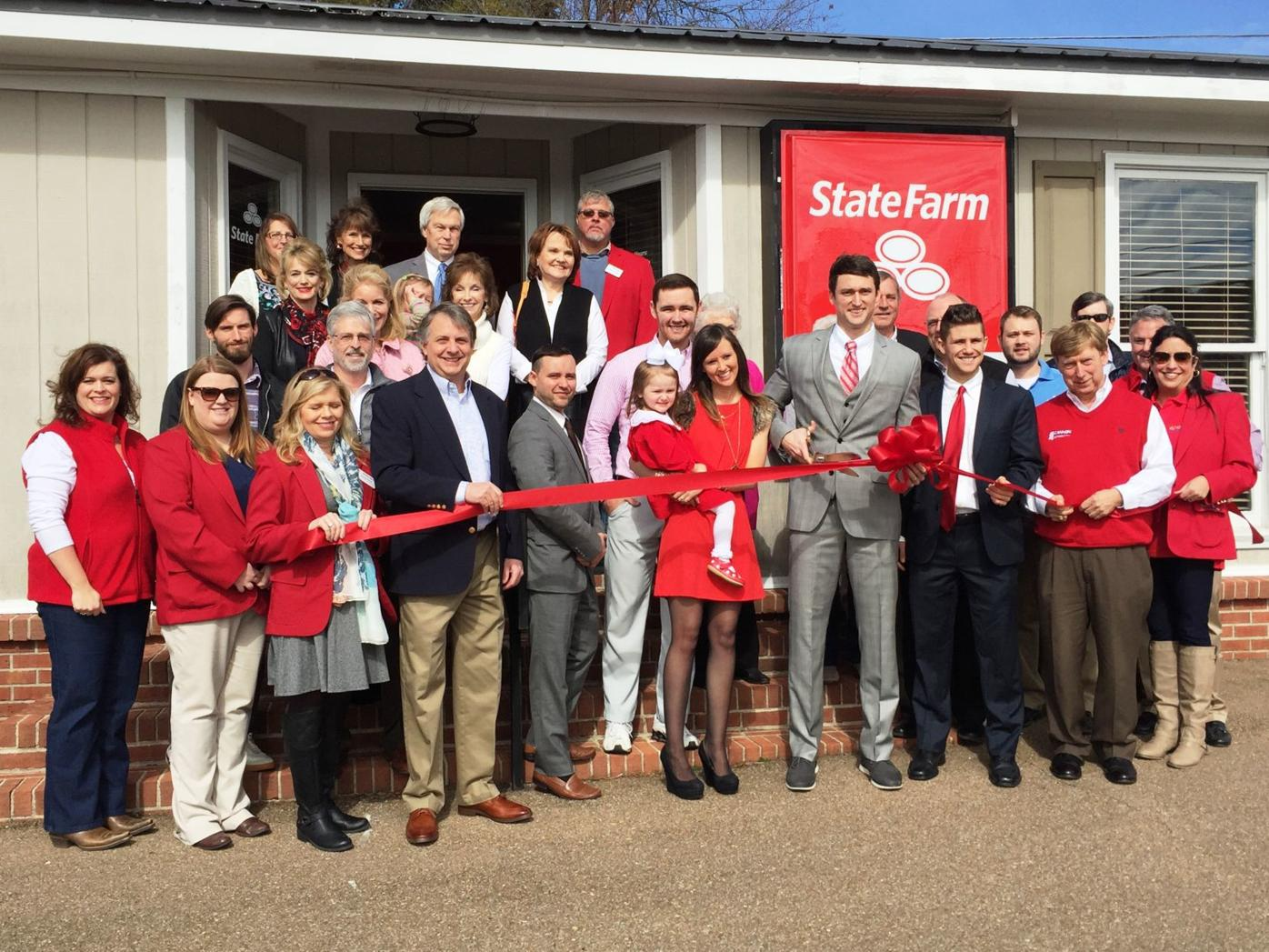 ribbon cutting will poole state farm business djournal com ribbon cutting will poole state farm