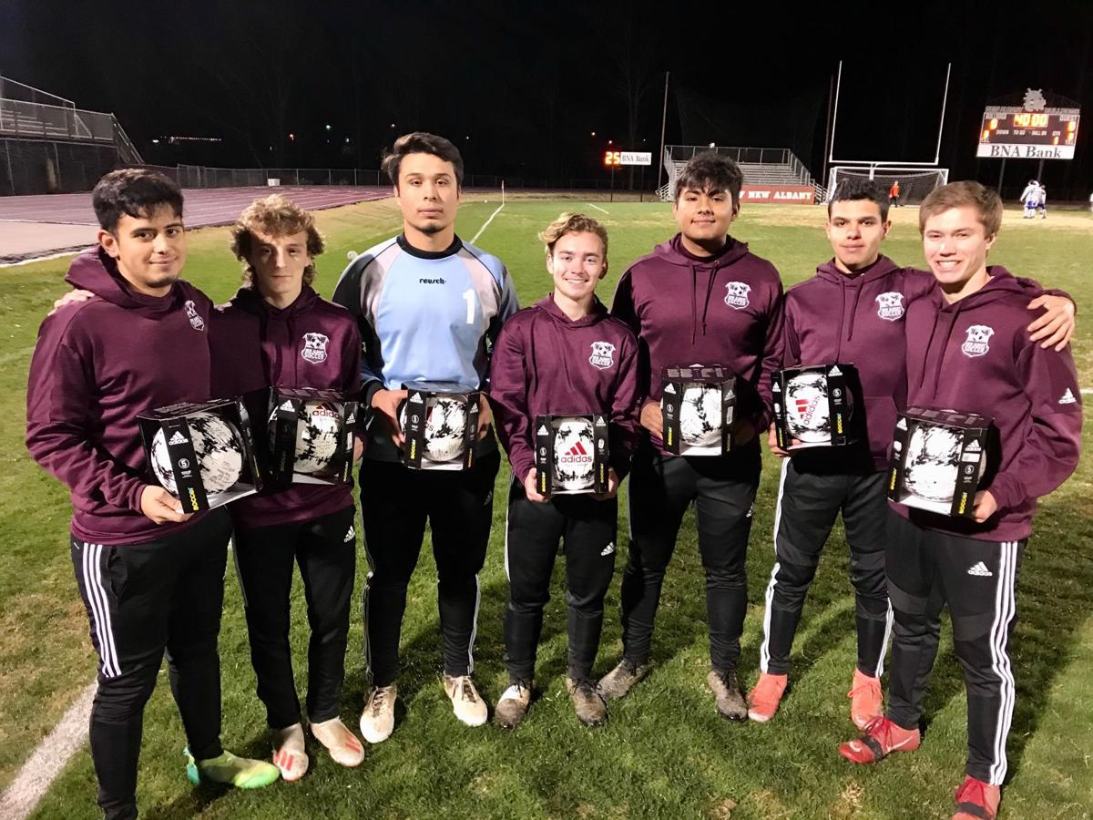 New Albany Boys Soccer seniors