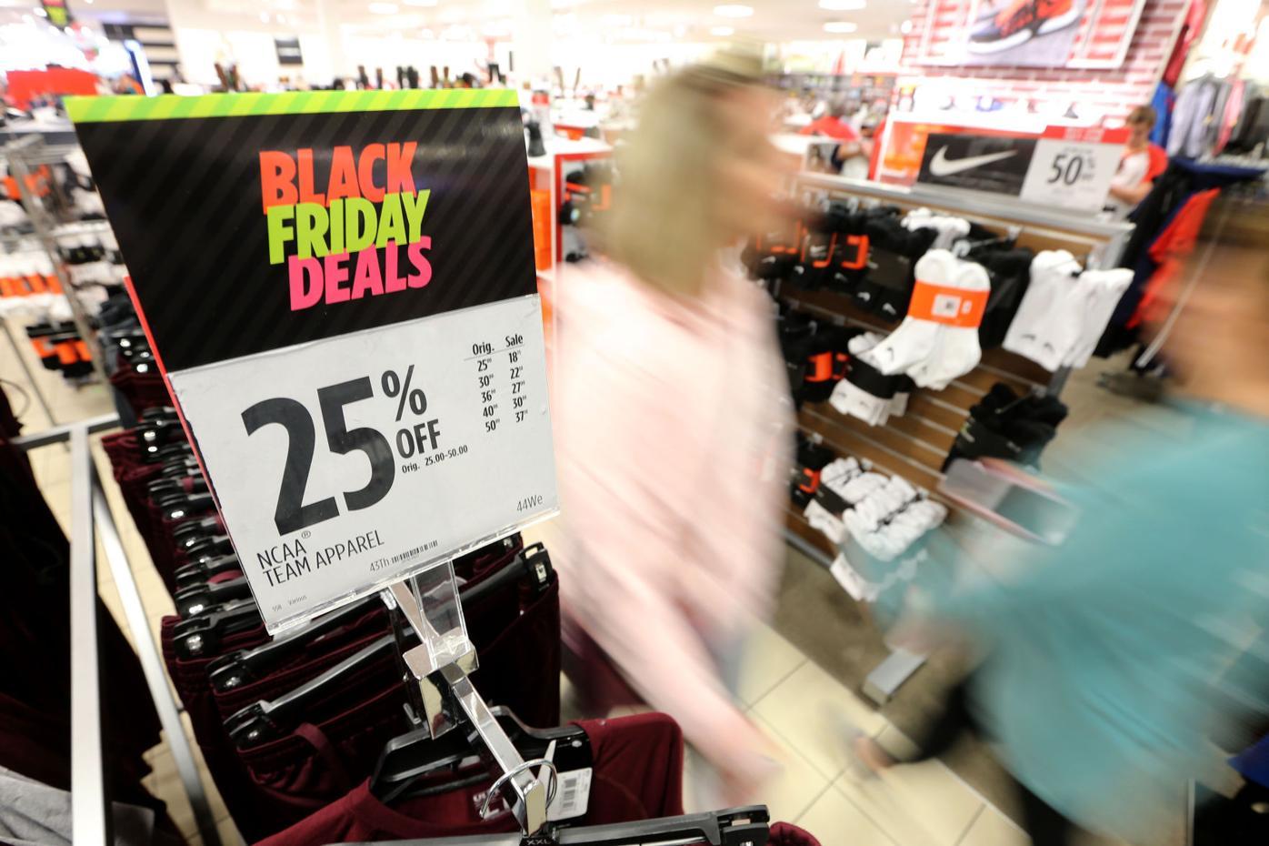 Black Friday shopping: Slow start, fast finish | News ...