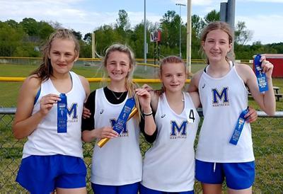 Mantachie girls relay