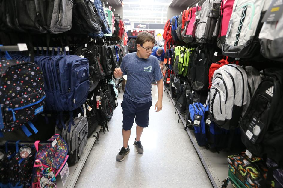 Shoppers, stores embrace back-to-school, tax-free weekend